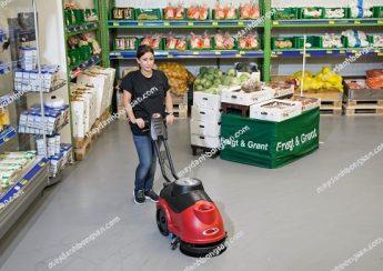 máy chà sàn liên hợp nào được dùng để vệ sinh siêu thị