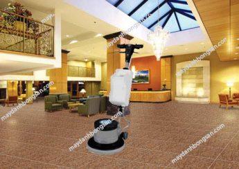 Máy chà sàn V-jet sở hữu thiết kế nhỏ gọn, linh hoạt