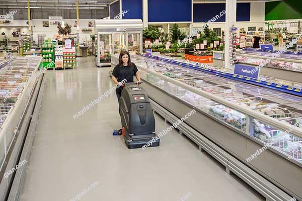 Sử dụng máy chà sàn liên hợp như thế nào đúng cách?