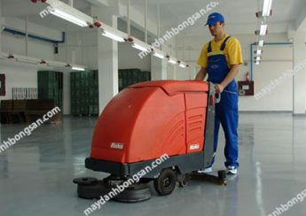 Máy chà sàn liên hợp loại bỏ bụi bẩn, vi khuẩn gây hại trong xưởng sản xuất, nhà kho nhanh chóng