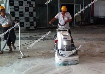 Sử dụng máy mài nền bê tông cho nhà xưởng