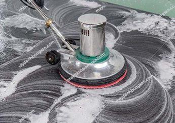 Đánh bóng sàn đá granite với máy đánh bóng sàn là phương pháp lý tưởng nhất