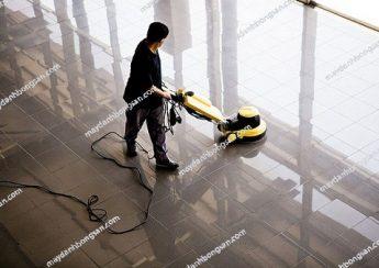 Sử dụng máy đánh bóng sàn đúng cách giúp tăng tuổi thọ