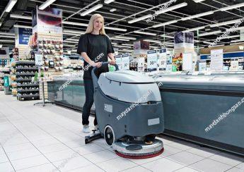 sử dụng và bảo quản máy chà sàn liên hợp
