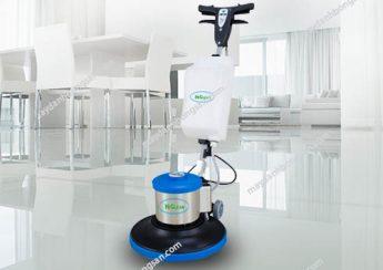 Máy chà sàn đơn phù hợp sử dụng trong không gian có diện tích mặt sàn vừa và nhỏ