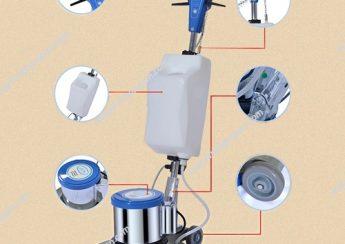 Cấu tạo máy chà sàn đơn