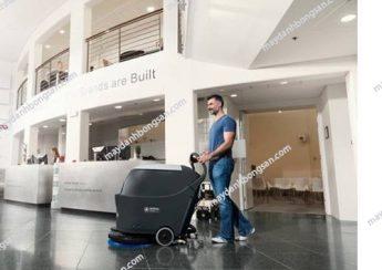 Máy chà sàn được ưa chuộng sử dụng trong các khách sạn hiện nay